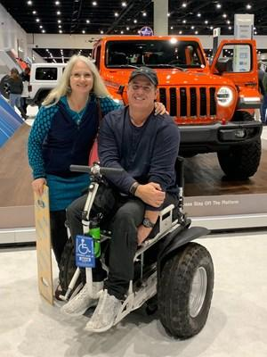 "The Jeep® brand announced Steven Scott from Poway, Calif., as the winner of its ""Find Your Freedom"" social contest, which launched as part of the brand's #4X4DAY celebration."