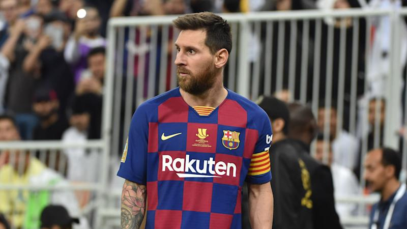 Messi fuming over Barcelona's 'childish mistakes' in Supercopa loss
