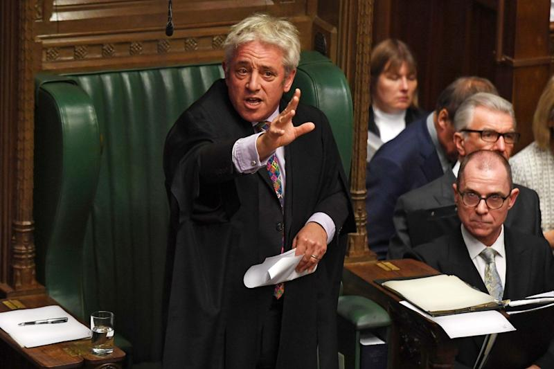 Mr Bercow categorically denied bullying anyone during his time in office (UK PARLIAMENT/AFP via Getty Images)
