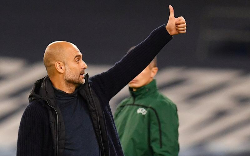 Manchester City manager Pep Guardiola. - REUTERS
