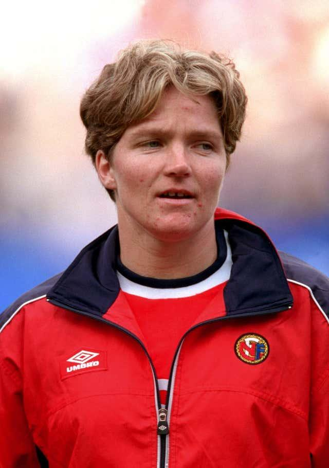 Hege Riise helped Norway win the World Cup, European Championship and Olympic gold during a playing career (Jon Buckle/PA).