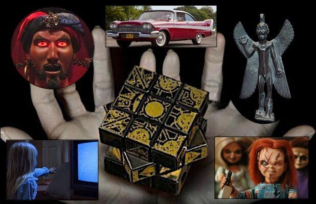15 Haunted Objects in Movies, From 'Hellraiser' to 'The Ring' and 'Poltergeist' (Photos)
