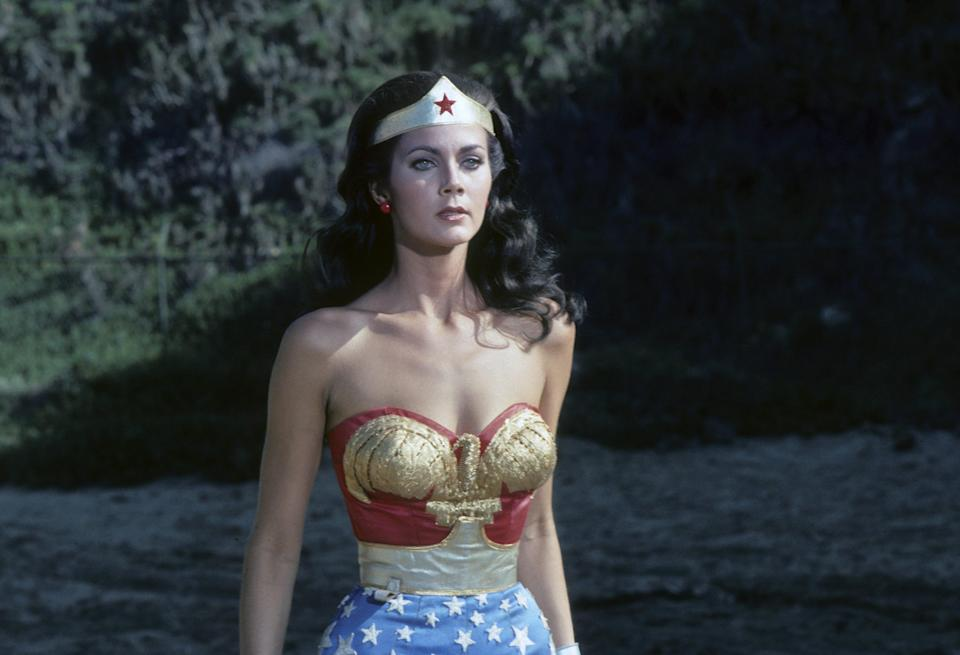 Lynda Carter says she experienced sexual harassment during the filming of Wonder Woman in the Seventies