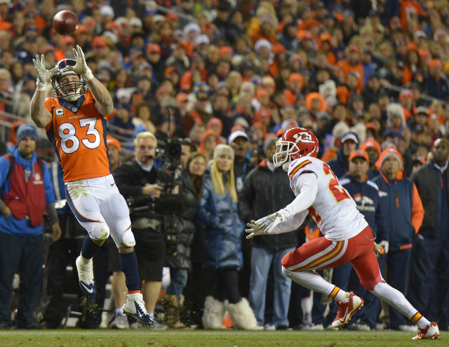 Welker probable for Broncos game at New England