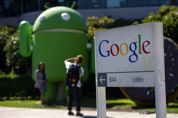 Alphabet, Google's parent company has approximately 118,899 employees worldwide.