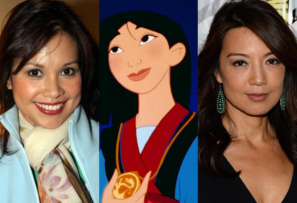Mulan (singing= Lea Salonga) (voice= Ming-Na Wen)
