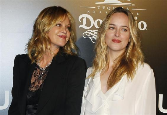 Melanie Griffith and daughter Stella Banderas in Los Angeles, December 14, 2010.