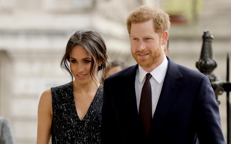 Prince Harry and Meghan Markle - AP