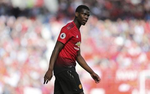 Paul Pogba of Manchester United during the Premier League match between Manchester United and Cardiff City at Old Trafford - Credit: James Baylis/Getty