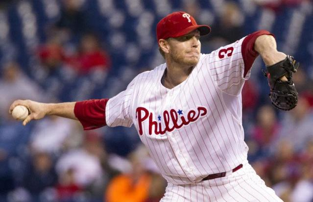 Roy Halladay will join the Philadelphia Phillies Wall of Fame in August. (AP)