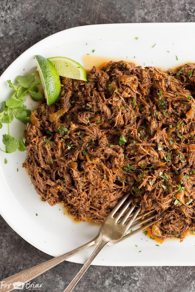 """<p>Say hello to a Mexican vaca in your mouth.</p><p>Get the recipe from <a href=""""https://www.foxandbriar.com/slow-cooker-mexican-shredded-beef/"""" rel=""""nofollow noopener"""" target=""""_blank"""" data-ylk=""""slk:Fox and Briar"""" class=""""link rapid-noclick-resp"""">Fox and Briar</a>.</p>"""