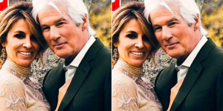 Who is Richard Gere's wife?