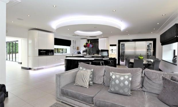 Andy Carroll's Chigwell kitchen. Photograph: Rightmove