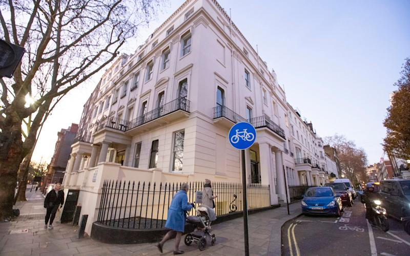 Malik Riaz Hussain has reportedly given up his Grade II listed building 1 Hyde Park Place, valued at £50 million - Copyright ©Heathcliff O'Malley , All Rights Reserved, not to be published in any format without p
