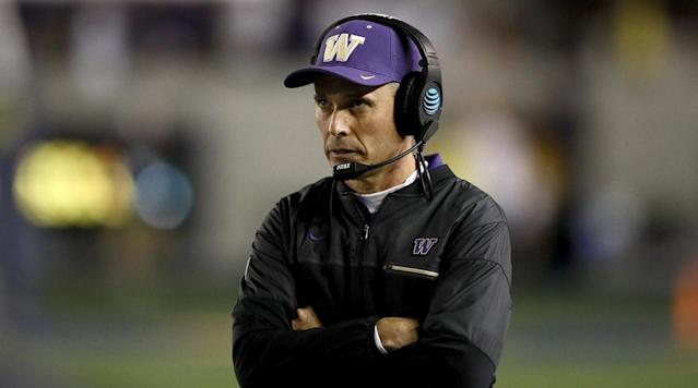 Washington extends Chris Petersen's contract, makes him highest-paid Pac-12 coach