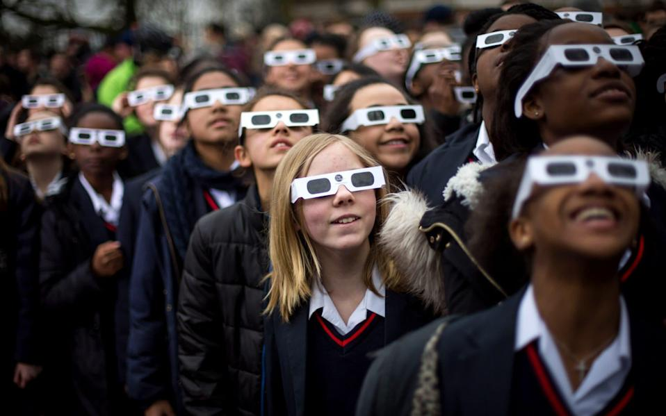 Get your eclipse goggles at the ready... - Getty