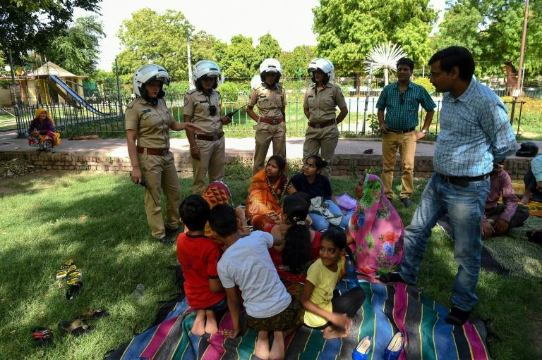 """""""The message we want to send out is that we have zero tolerance towards crimes against women,"""" said Kamal Shekhawat, who heads the specialist Jaipur police unit established in late May"""