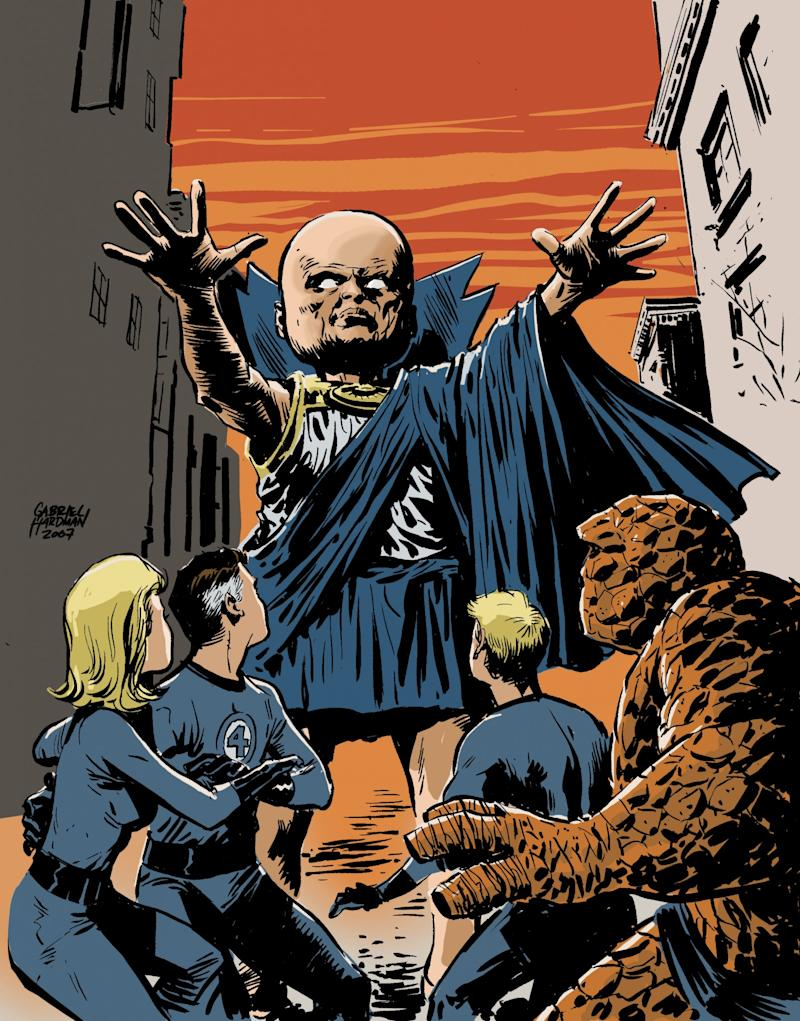 The Watcher, in the pages of 'The Fantastic Four' (credit: Marvel)