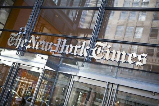 The New York Times Co. posted a loss of $88.1 million in the previous quarter