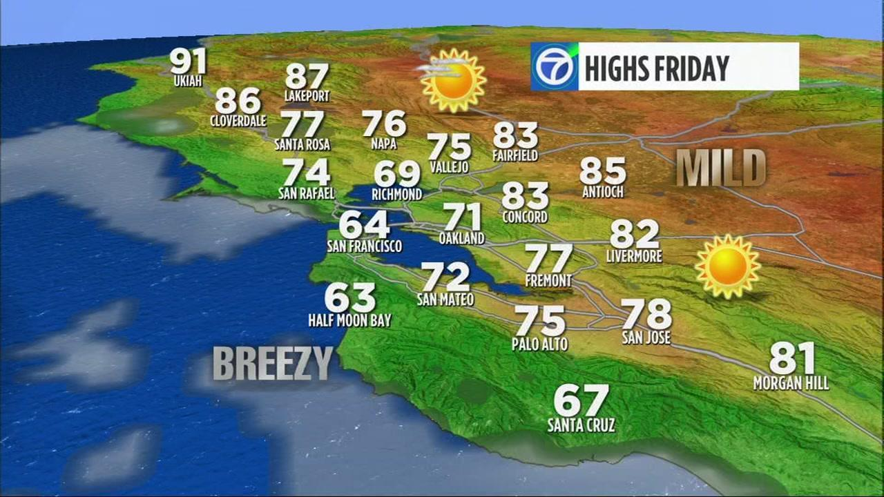 AccuWeather Forecast: Fog and misty low clouds tonight on hoh rain forest map, golden gate park walking map, california surf map, sfgate fog map, monterey bay national marine sanctuary map, bay area fog map,