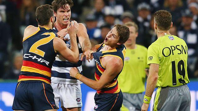Hawkins lashes out at Crouch. Image: Getty