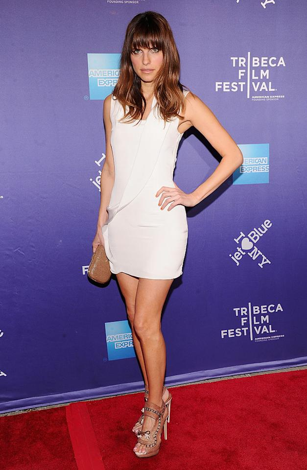 "<a href=""http://movies.yahoo.com/movie/contributor/1808924254"">Lake Bell</a> attends the 10th Annual Tribeca Film Festival premiere of "" A Good Old Fashioned Guy"" on April 29, 2011."