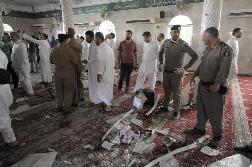 Saudi confirms three dead in a suicide bombing on a Shiite mosque