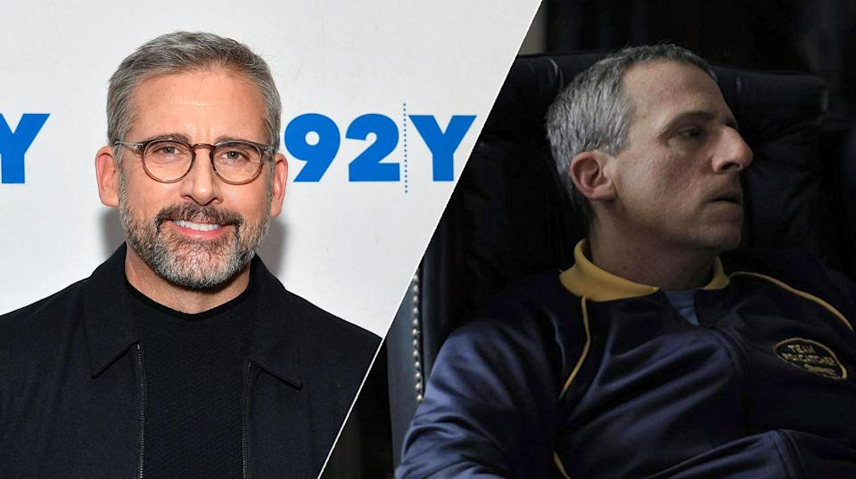 Steve Carell donned a fake beak to play an eccentric millionaire in <i>Foxcatcher</i>.