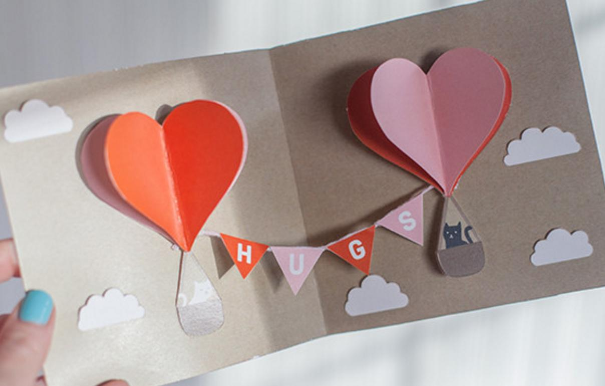 creative valentines day card - HD 1208×770