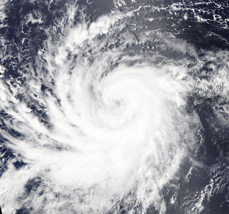Hurricane Lane Looks Absolutely Massive From Space