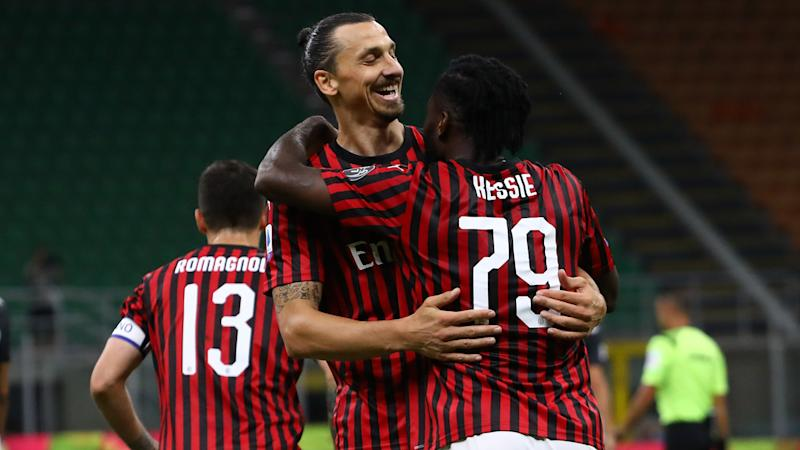 Pioli wants to keep working with Ibrahimovic at Milan and tips Leao to 'explode'