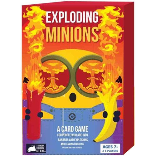 The Exploding Minions card game goes on sale June 21. (Photo: Exploding Kittens)