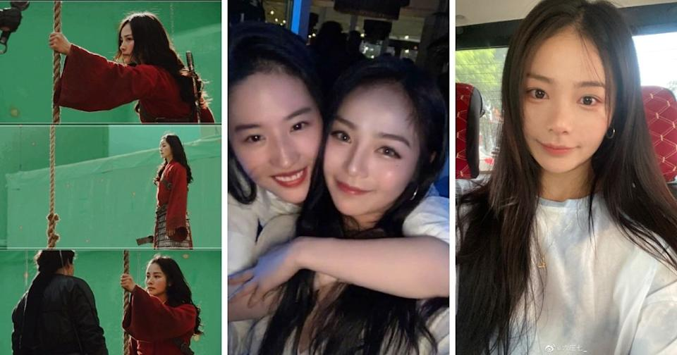 "Liu Yaxi was <span>Liu Yifei's stunt double in the latest Disney blockbuster, ""Mulan.""</span>(影視燈塔lighthouse/Weibo/The China Post)"