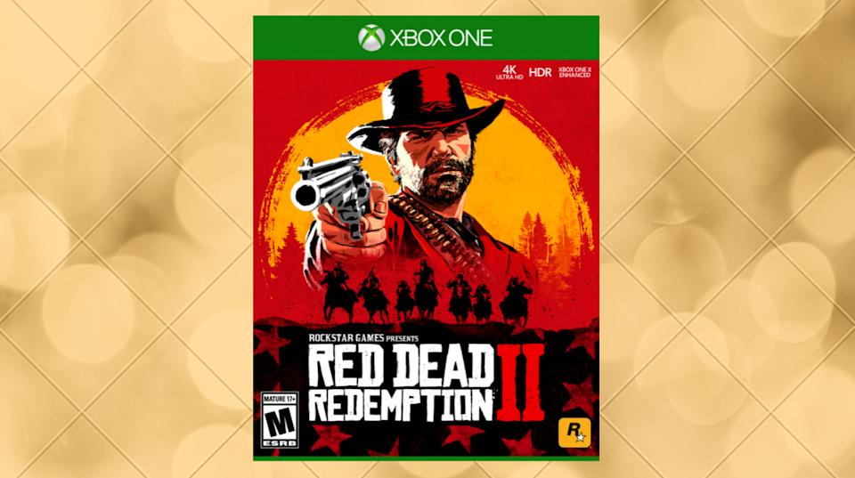 The game has earned countless awards and accolades — and even if you're not a big-time gamer, you'll love Morgan's action-packed story, and the painstaking detail with which his world is rendered. (Photo: Walmart)