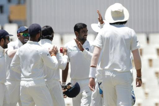 <p>Ashwin boosts India against South Africa</p>