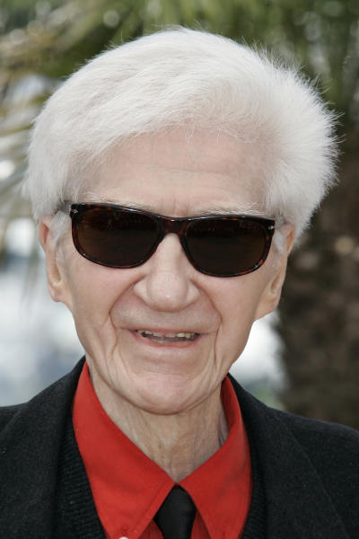 FILE - In this May, 20 2009 file photo, French director Alain Resnais attends a photo call for the film 'Les Herbes Folles' (Wild Grass) during the 62nd International film festival in Cannes, southern France. Seminal filmmaker Alain Resnais, whose inventiveness in film made him among the world's cinema greats, has died Saturday March 1, 2014. He was 91. (AP Photo/Lionel Cironneau, File)