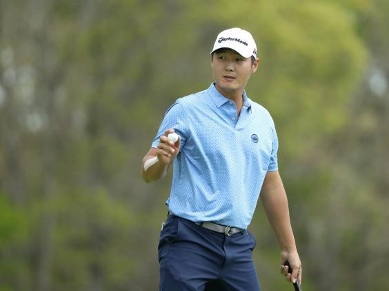 Danny Lee is one shot back of Koepka (Getty)