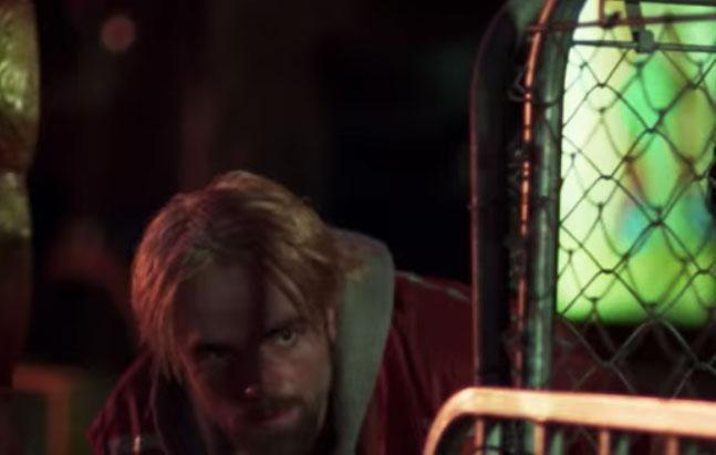 The Twilight star is seen sporting blond hair. Source: A24/Good Time