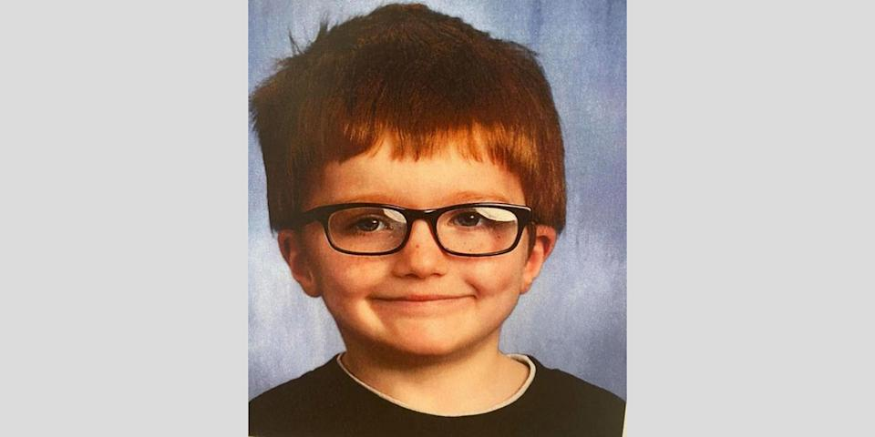 Image: Police in Middletown, Ohio, say James Hutchinson, 6, was killed by his mother. (Middletown Police Department)