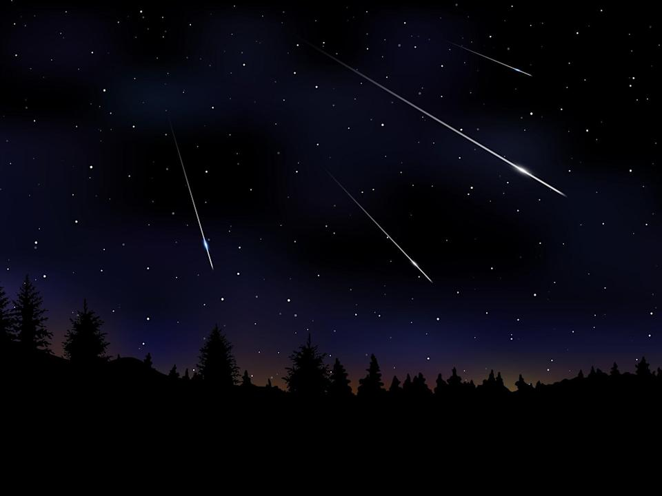The Orionid meteor shower will peak on 21 October 2020 (Getty Images/iStockphoto)
