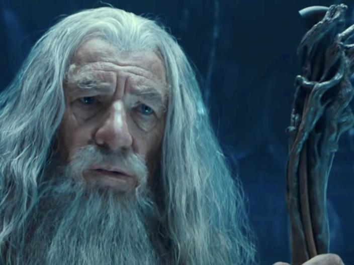 "Ian McKellen as Gandalf in ""The Lord of the Rings: The Fellowship of the Ring."" <p class=""copyright"">New Line Cinema</p>"