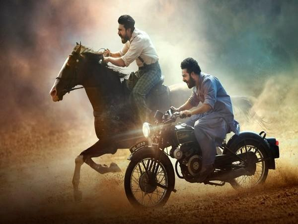 New poster of 'RRR', Image source: Twitter