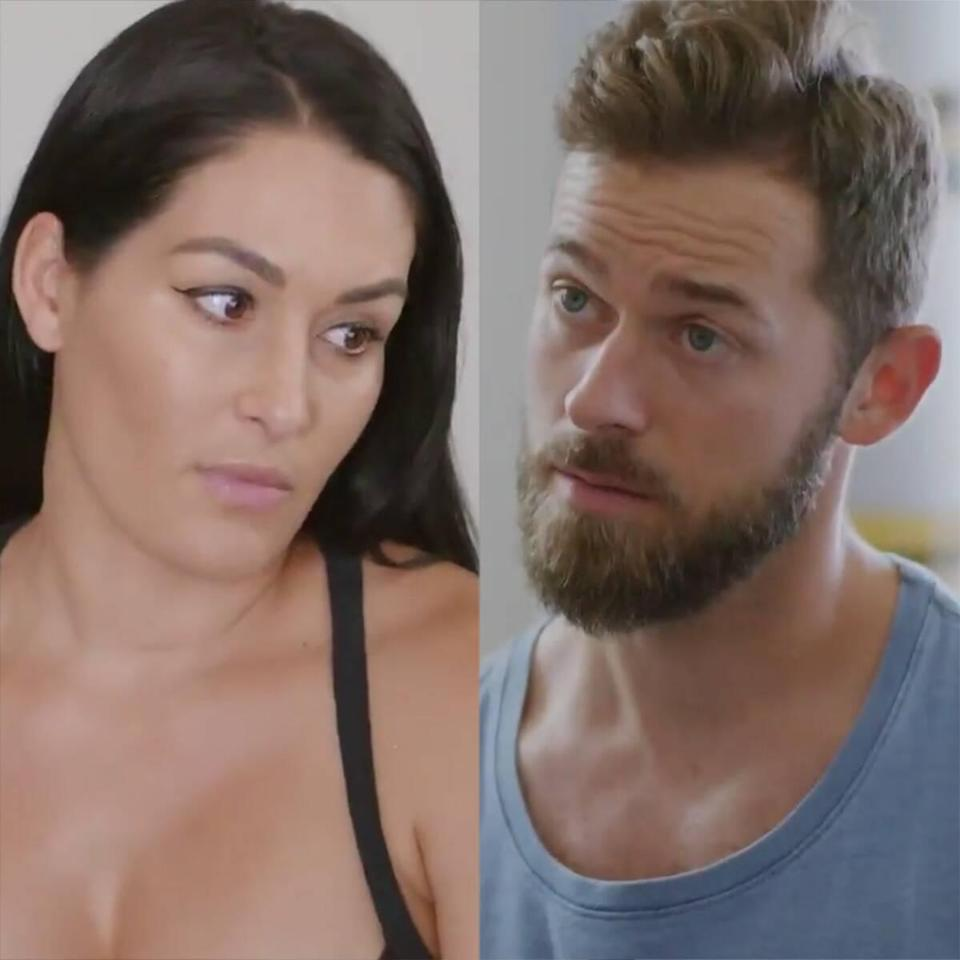 Nikki Bella Gives Artem Chigvintsev Scary News About Baby Matteo's Heart