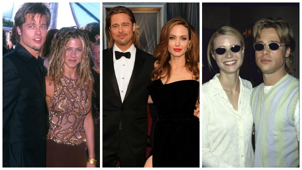 <p>It all started on Twitter, where user Sarah McGonagall posted a collage of the Hollywood star with his ex-girlfriends. Once you see the similarities between Brad and his former loves, you won't be able to unsee it. Photo: Getty Images </p>