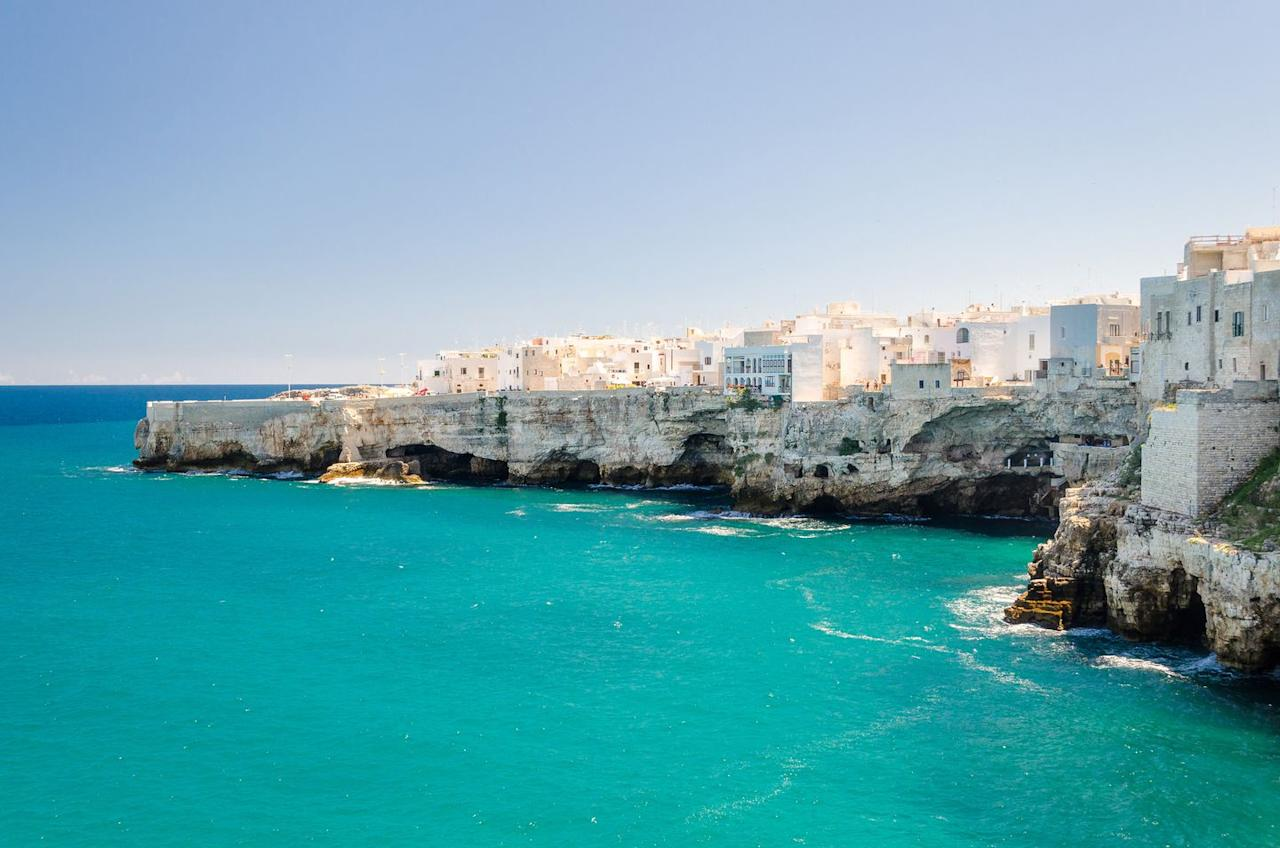 "<p>Puglia, the heel of Italy's stylish boot, has a wonderfully distinct allure stemming from its rural landscape and patchwork past of Norman, Spanish, Greek, and Byzantine influences. The region is quickly rivaling Tuscany's gourmet title, offering a glimpse into true Italian traditions and values. </p><p>With miles of bountiful coastline, replete with verdant landscapes of olive groves and vineyards, this pristine region produces some of the country's best, oft undiscovered wines and olive oils. Treat yourself to sensory overload and savor Puglia's famed cucina povera, a stripped-back, authentic style of Italian cooking focusing on simple, fresh ingredients and traditional cooking methods–it's the slow-food movement at its best. </p><p>The region is also home to distinctly luxurious lodgings like the fabulous hideaway, <a href=""https://borgoegnazia.com/"">Borgo Egnazia</a>, a stone-carved haven set amongst Puglia's shady olive groves. The creation of one of the most inspired hoteliers, Aldo Melpignano, and his family, Borgo Egnazia is modeled on a traditional local Apulian borgo (village). Here, the cream-hued estate features romantic suites and villas that are decked out in calming tones and elegantly equipped to meet every creature comfort. While in town, check out their gorgeous sister boutique property, <a href=""https://www.roccofortehotels.com/hotels-and-resorts/masseria-torre-maizza/?utm_source=google&utm_medium=local&utm_campaign=masseria-torre-maizza"">Masseria Torre Maizza</a>, which reopened May 2019 under the estimable Rocco Forte banner and is setting the stage to be a very chic oasis, indeed.</p>"