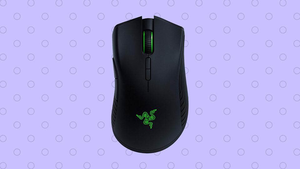 At more than 50 percent off, this Razer Mamba Wireless  Mouse is poised to make the gamer on your list jump for joy. (Photo: Amazon)