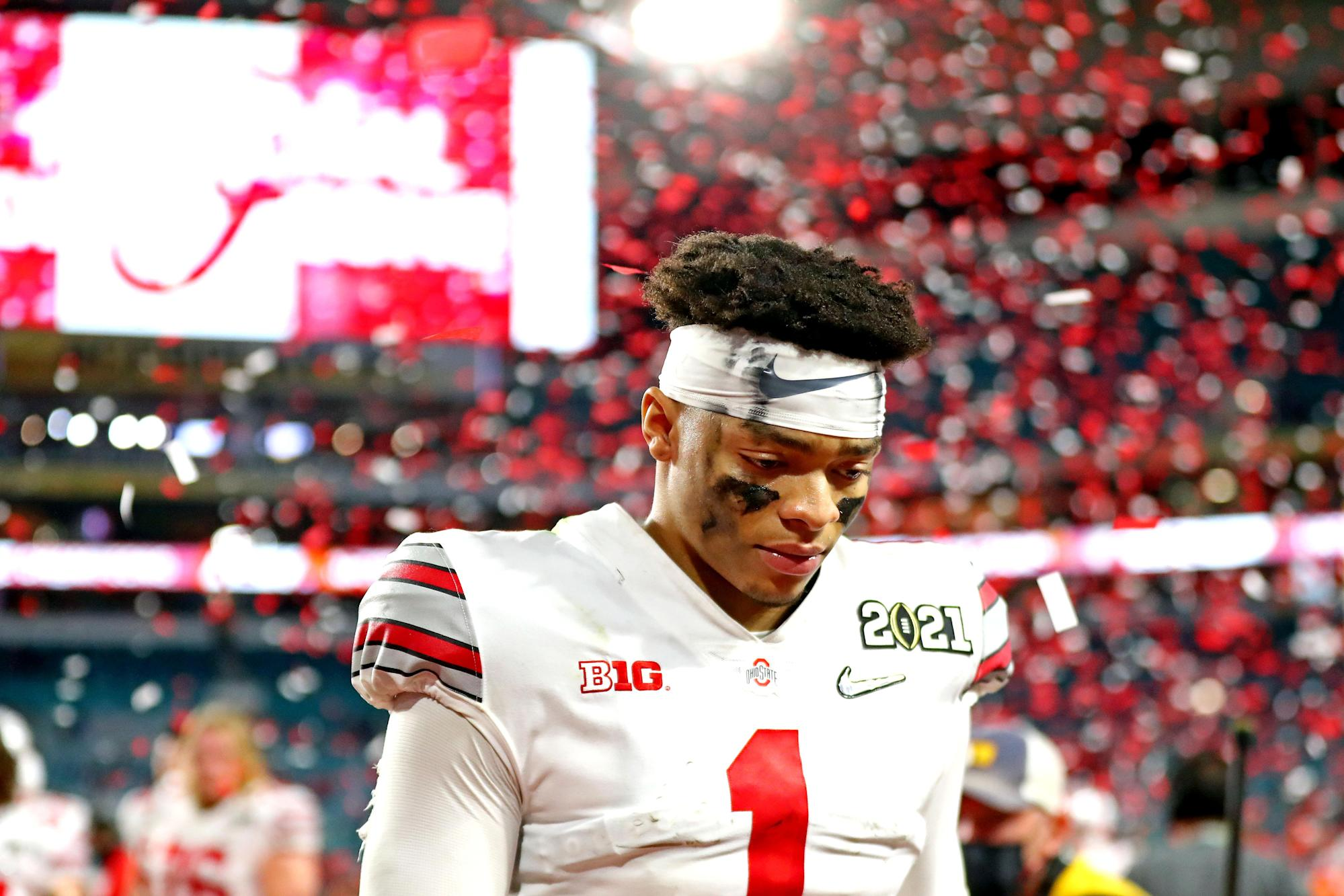 How did Justin Fields, other potential Jets draft picks do ...