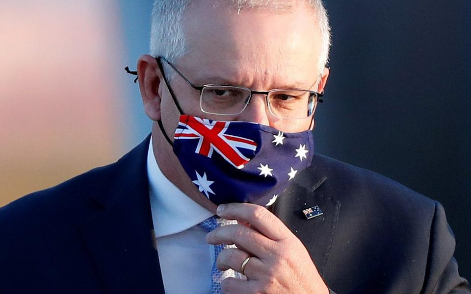 Foreigners are not allowed to enter Australia for the foreseeable future, Scott Morrison said - Getty