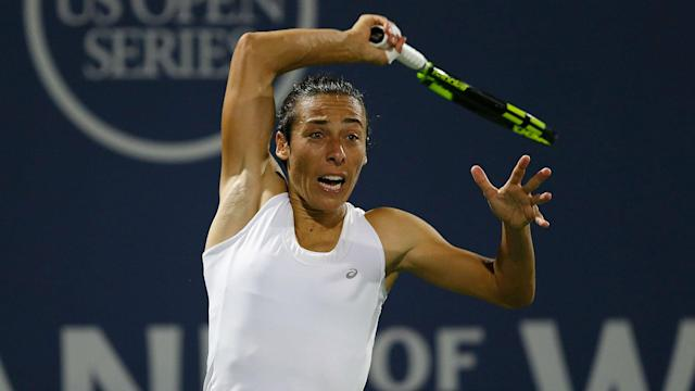 """Francesca Schiavone kept her cancer diagnosis quiet but has now been able to declare she is """"back in action""""."""