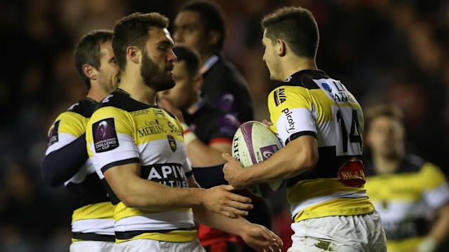 La Rochelle moved into the European Challenge Cup semi-finals with a hard-fought win over Edinburgh.